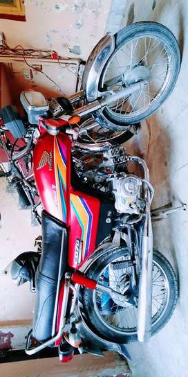 Honda cd 70 one hand used physically fit