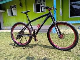 Dijual sepeda MTB kondisi mulussss
