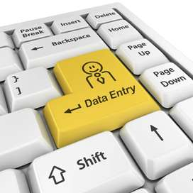 You can earn from home-data entry jobs