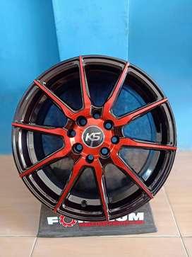 KS Doni Jual Velg AMW Wheels R15x7 H8x100-114.3 mobil Yaris New