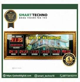 Jam digital medium plus bergaransi