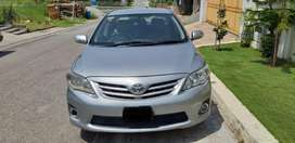 Toyota Corolla GLI M/T 2013 single owner driven original condition