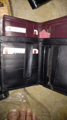 Leather Gents Long wallet