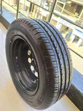 Tyre with stapnee