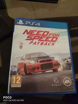 Nfs payaback ps4 CD