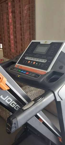 Joggway treadmill with Air cussions double moters