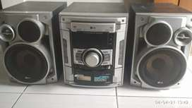 LG I HOME THEATER MDD 72