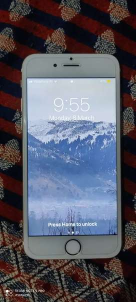 Iphone 6 golden scratchless no issue urgent sell