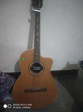 Aucastic guitar