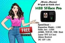 Fingerprint MBB SFiface Pro Alat Absen Wajah & Jari Pinjer Print GRNSI