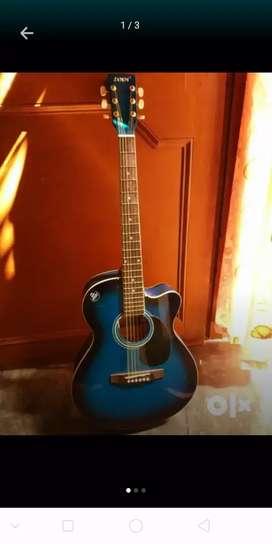 Jimm semi acoustic guitar