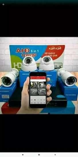 Paket terlengkap CCTV online HP gratis pemasangan di Serang Kota