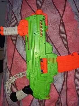 Nerf shooting gun