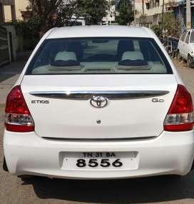 Toyota Etios DLX, 2014, Diesel