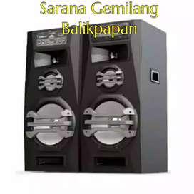 SPEAKER AUDIO POLYTRON PAS 2A15 SUPER BASS USB BLUETOOTH KARAOKE