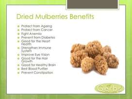Dried Organic Mulberry