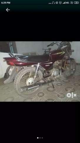 Ak hath ki bike hai cluch plate tak nahi badali hai