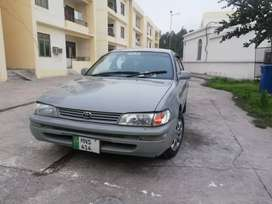 Toyota corolla XE New condition
