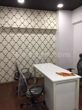 Full furnished office for sale in vesu with 14000 rent income