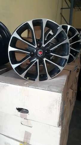 15-4*100 alloy wheels Available