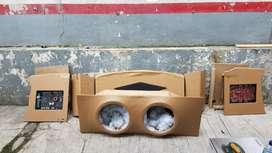 Box Audio 2 sub pnp Honda City