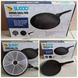 Round Grill Pan Suggo Crape Maker 30Cm