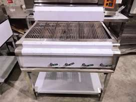 Charcoal gas grill , burger grill, Panini grill , deep fryer fast food