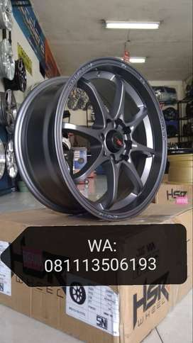velg mobil racing ring 16x7 pcd 8x100-114 HSR