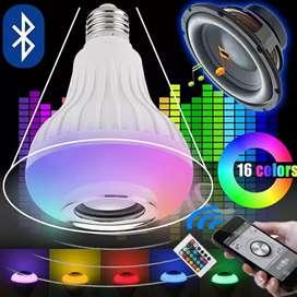 Lampu pintar ada speakernya,pengaturan pake remote control