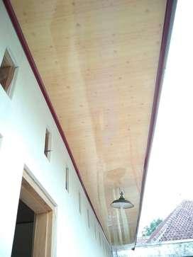 pasang plafon rumah menggunakan pvc gypsum di jonggat lombok tengah