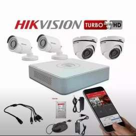 Camera CCTV online 2mp / 5mp komplit pleus pasang di BSD serpong
