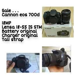 Kamera Dslr cannon 700D