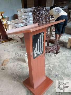 Gambar Podium HPL Mimbar Minimalis Masjid