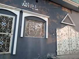 6 Marla house Double Storey Corner plot at Mulk Shah Wali Road