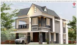 EASY ACCESS TO TOWN INDEPENDENT HOUSE FOR URGENT SALE IN THRISSUR