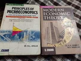 Micro economic + modern economics theory (s.chand)