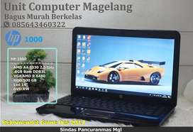 HP 1000 AMD A4 Ram 4 GB VGA ( Grafis-Game)