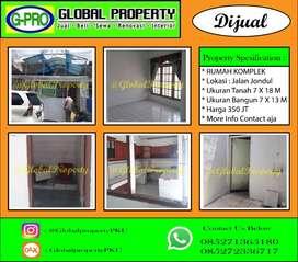 Dijual Rumah Komplek Jalan Jondul Murah !