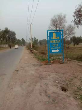 10 marla plot for sale meezan city