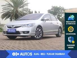 [OLXAutos] Honda Civic FD1 1.8 A/T 2010 Abu-abu