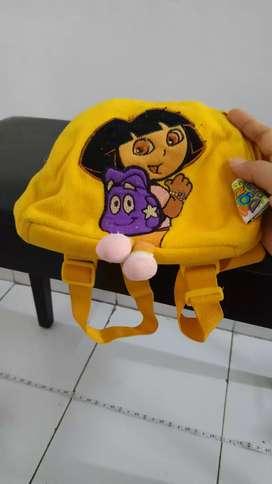 Ransel backpack Dora the Explorer original n rak tas gantung