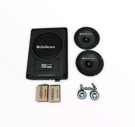 • Paket Audio 2way aulux + Bang Bass Domination