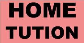 providing home tutions