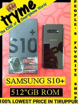 TRYME (S10+ SAMSUNG) 512Gb Rom Full Kit Box