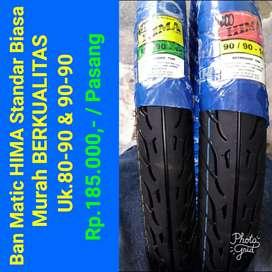 Ban Motor Murah Meriah Merk BLACKRING dan Hima hanya uk standar