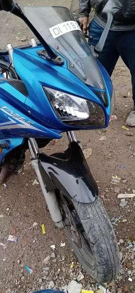 New brand bike repair all time in yamaha showroom  new tair new body