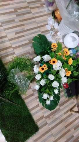 Jual bunga buket mawar Sintetiz