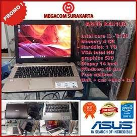 LAPTOP ASUS X441UA INTEL CORE I3 8th 4/1000 GB (Black)