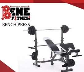 Alat fitnes benc press bisa kirim