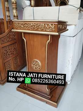 Produksi mimbar masjid musholla